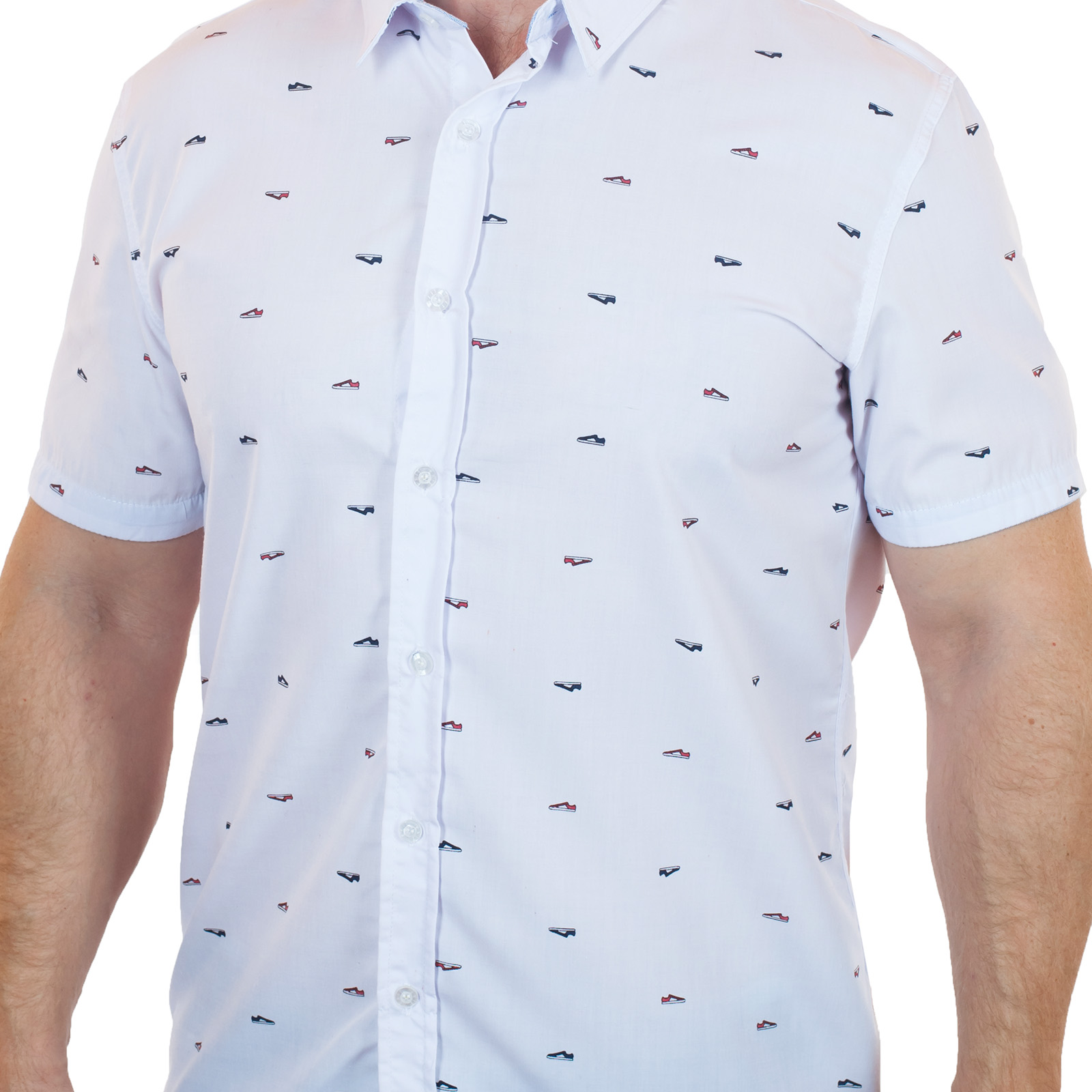 0728216d6ac Белая рубашка Exit для стильных мужчин
