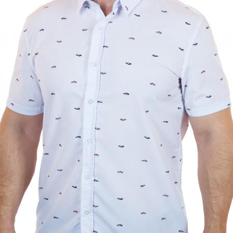 Белая рубашка Exit для стильных мужчин