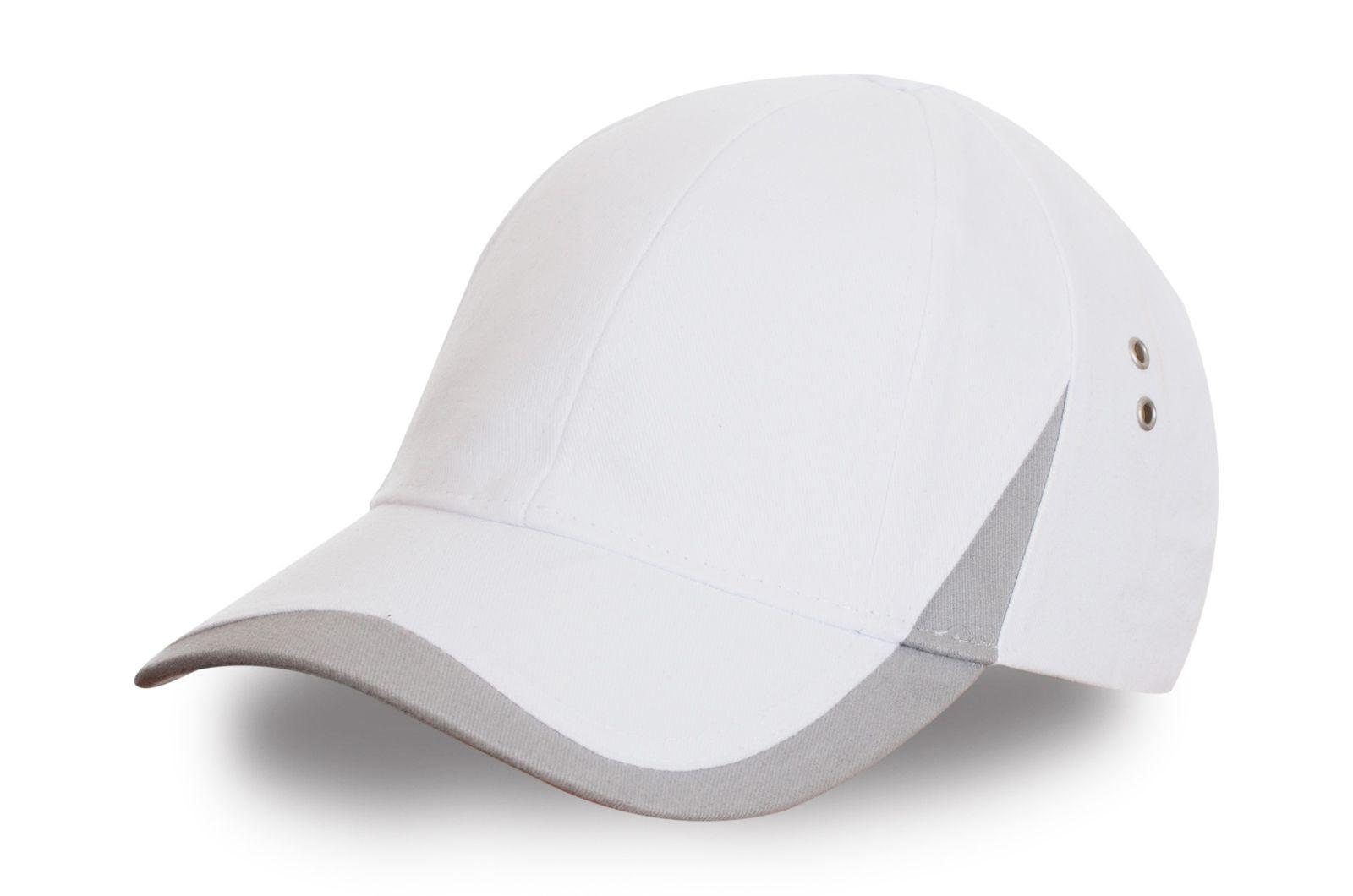 Белая спортивная кепка - купить в интернет-магазине с доставкой