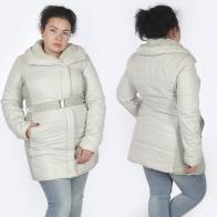 Белая удлиненная куртка Orsay (Германия).