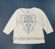 Белая женская кофточка от Jane Ashlye