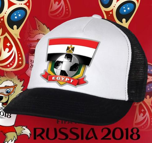 Бело-черная крутая бейсболка сборной Египта