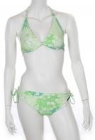 Бело-зеленый купальник Sunmarin.