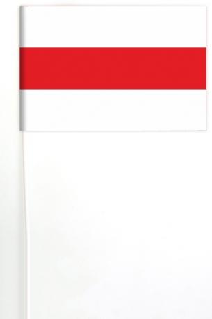 Белорусский национальный флажок на палочке