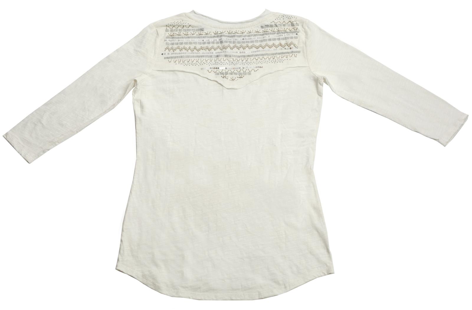 Купить белоснежную кофточку с декоративными плечами от бренда Panhandle Slim по специальной цене