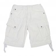 Белые мужские шорты карго Brandit.