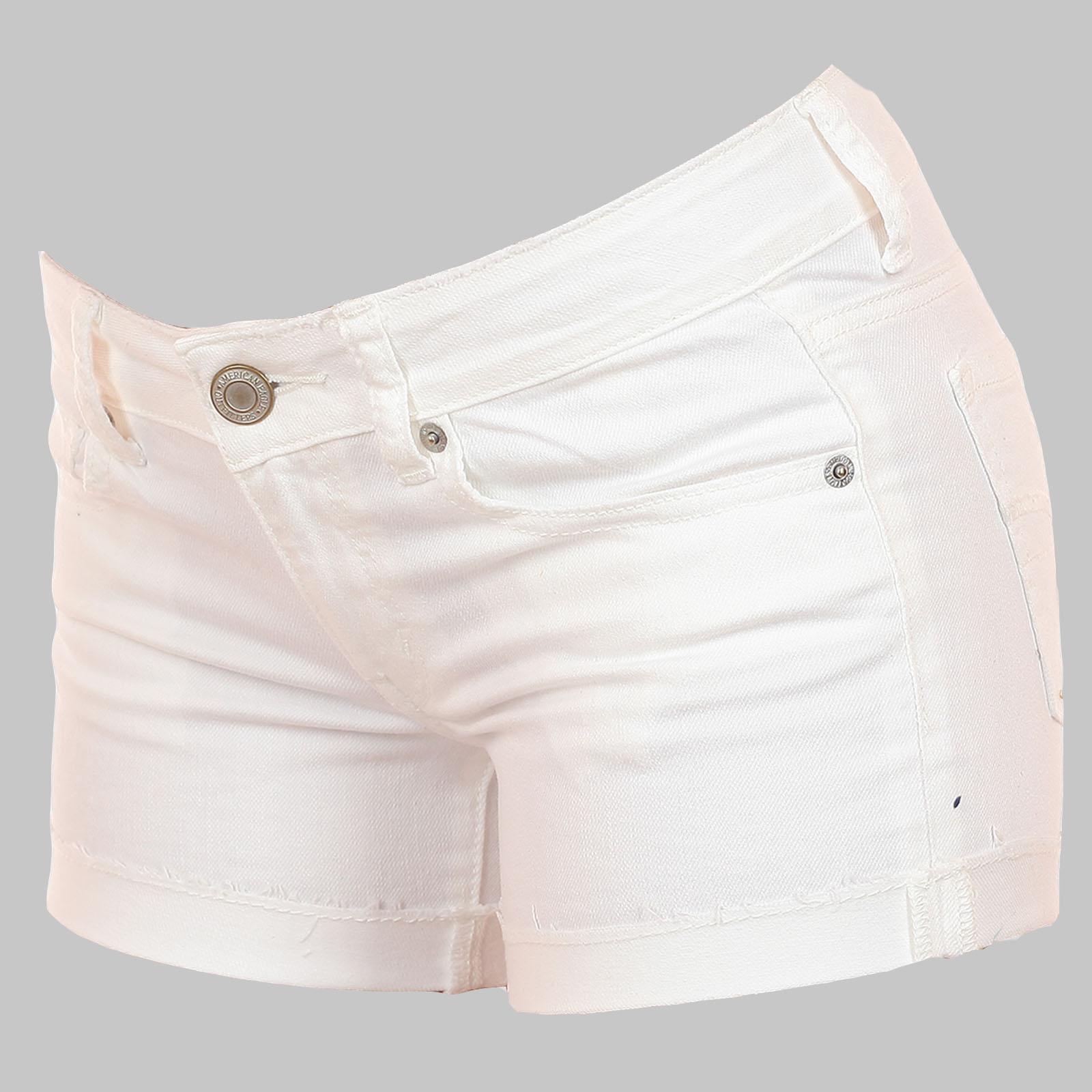 Белые котоновые шортики