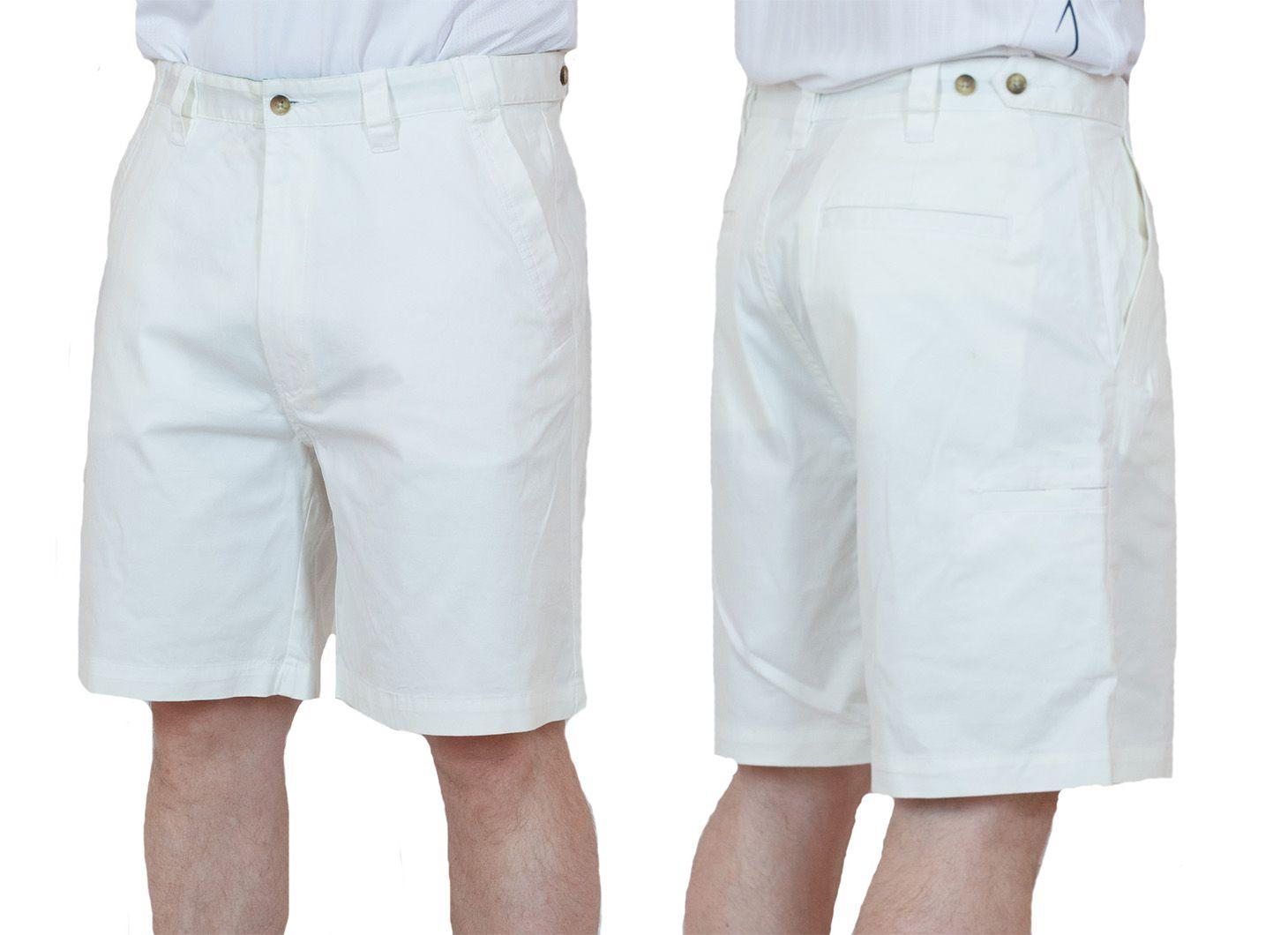 Заказать белые мужские шорты для летнего отпуска