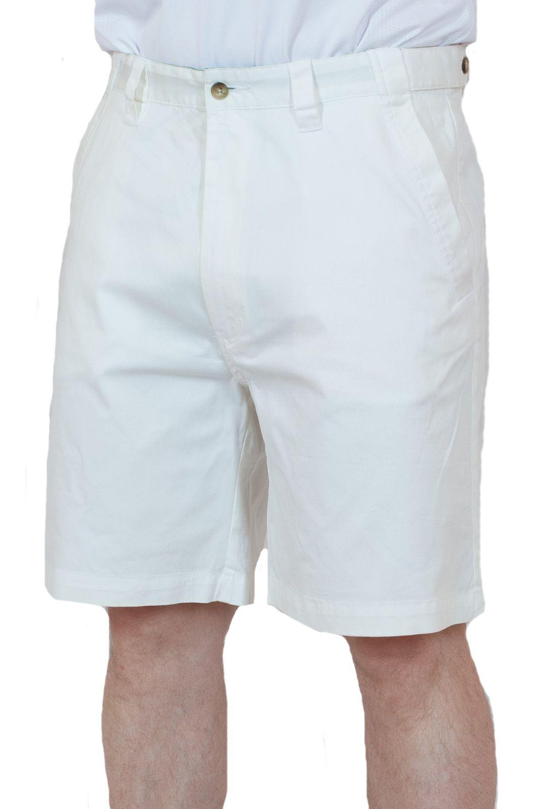 Белые мужские шорты для летнего отпуска
