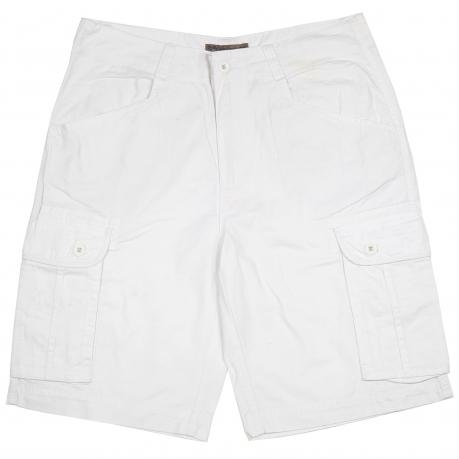 Белые мужские шорты Oak Ripe. Качественный пошив, 100% хлопок