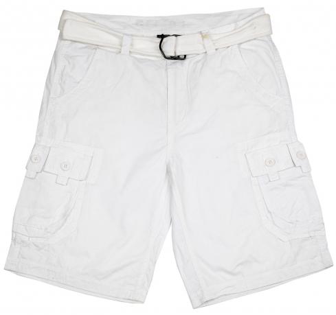 Белые мужские шорты ReFuel для стильных парней