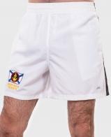 Белые шорты с черными лампасами и эмблемой Морской Пехоты