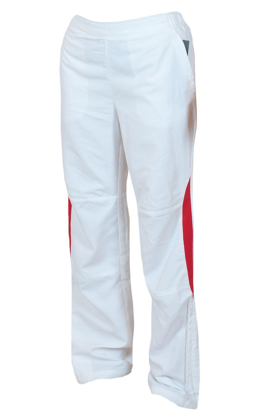 Белые спортивные брючки для девушек