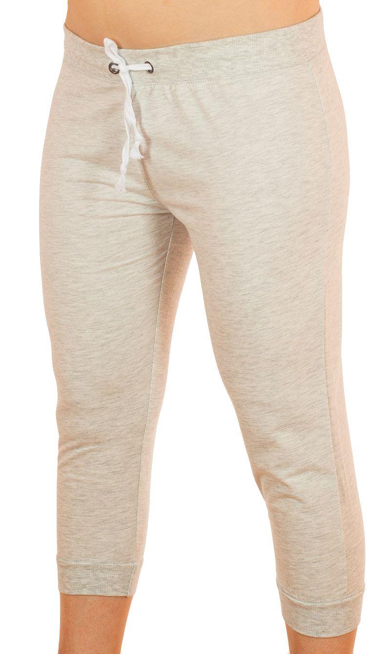 Белые спортивные капри Coco Limon - вид спереди