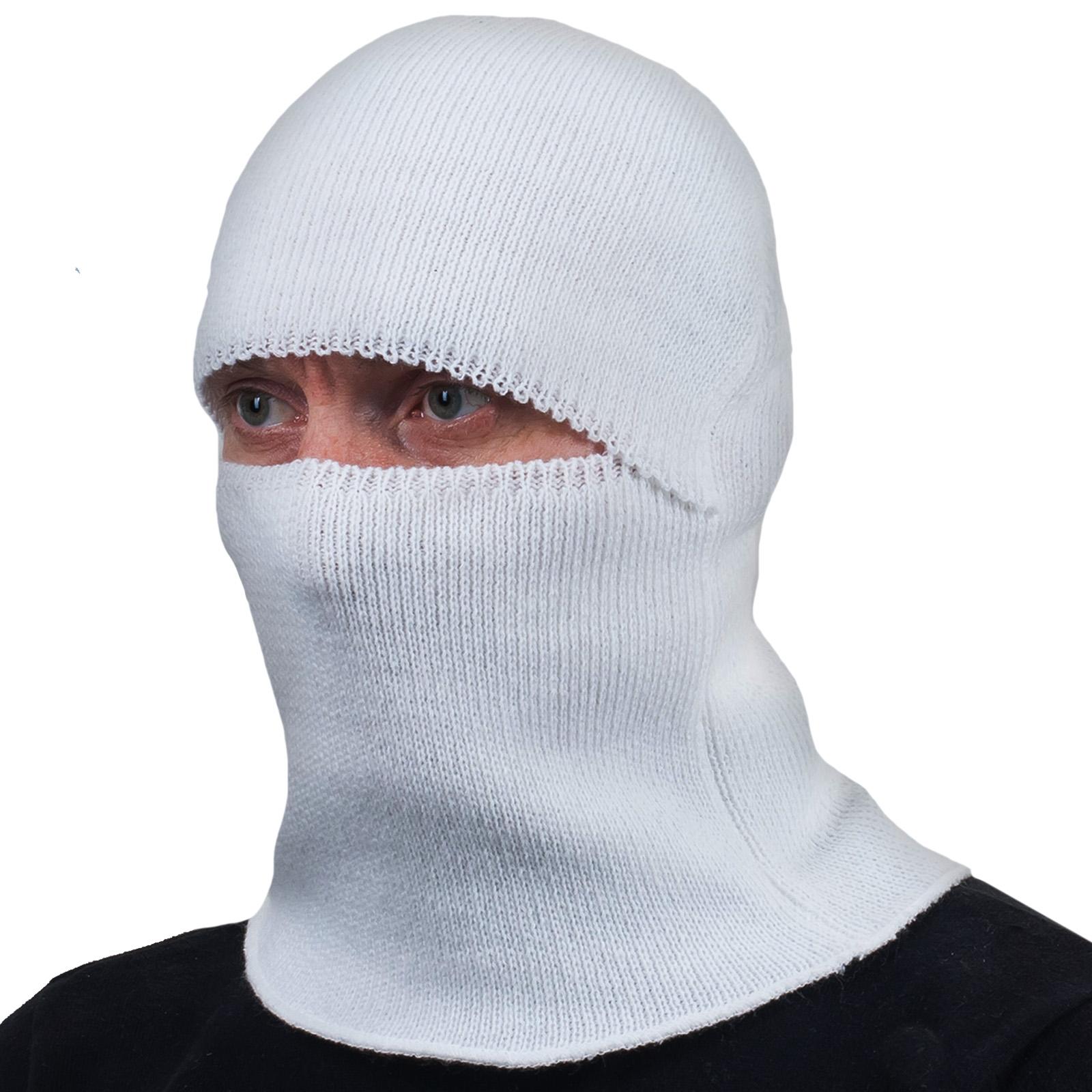 Белый подшлемник