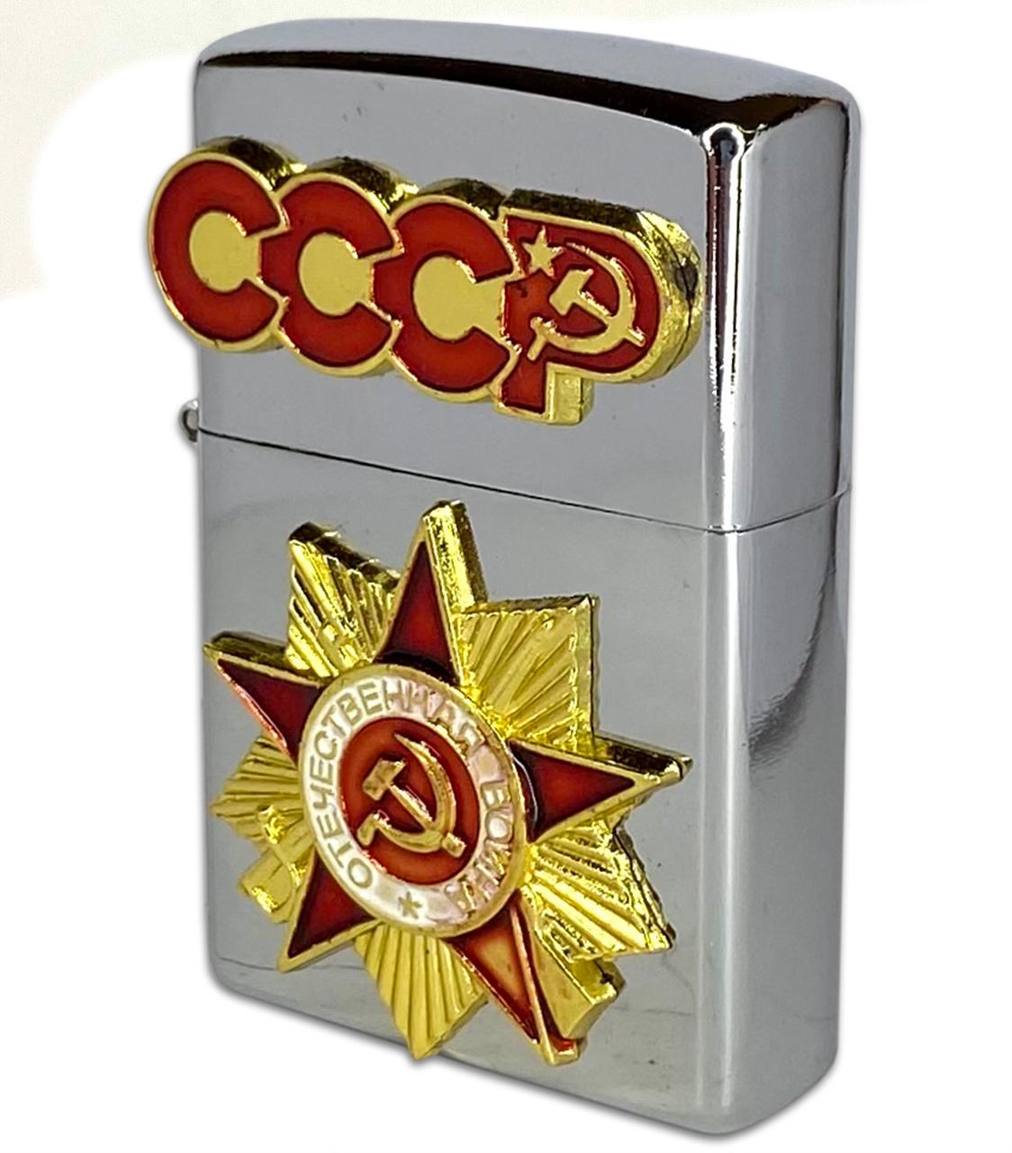 Бензиновая советская зажигалка