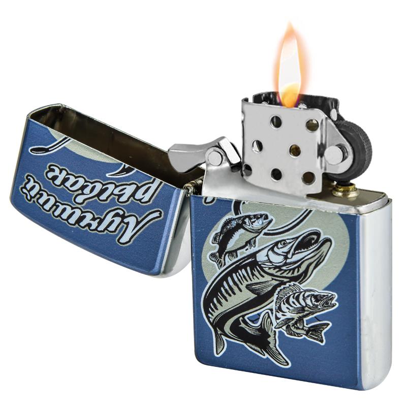 Бензиновая зажигалка Лучшего рыбака