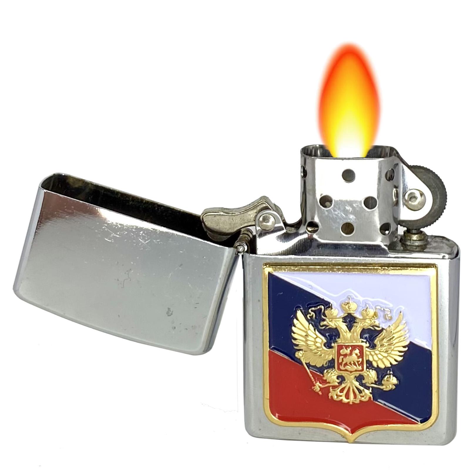 """Бензиновая зажигалка """"Россия"""""""