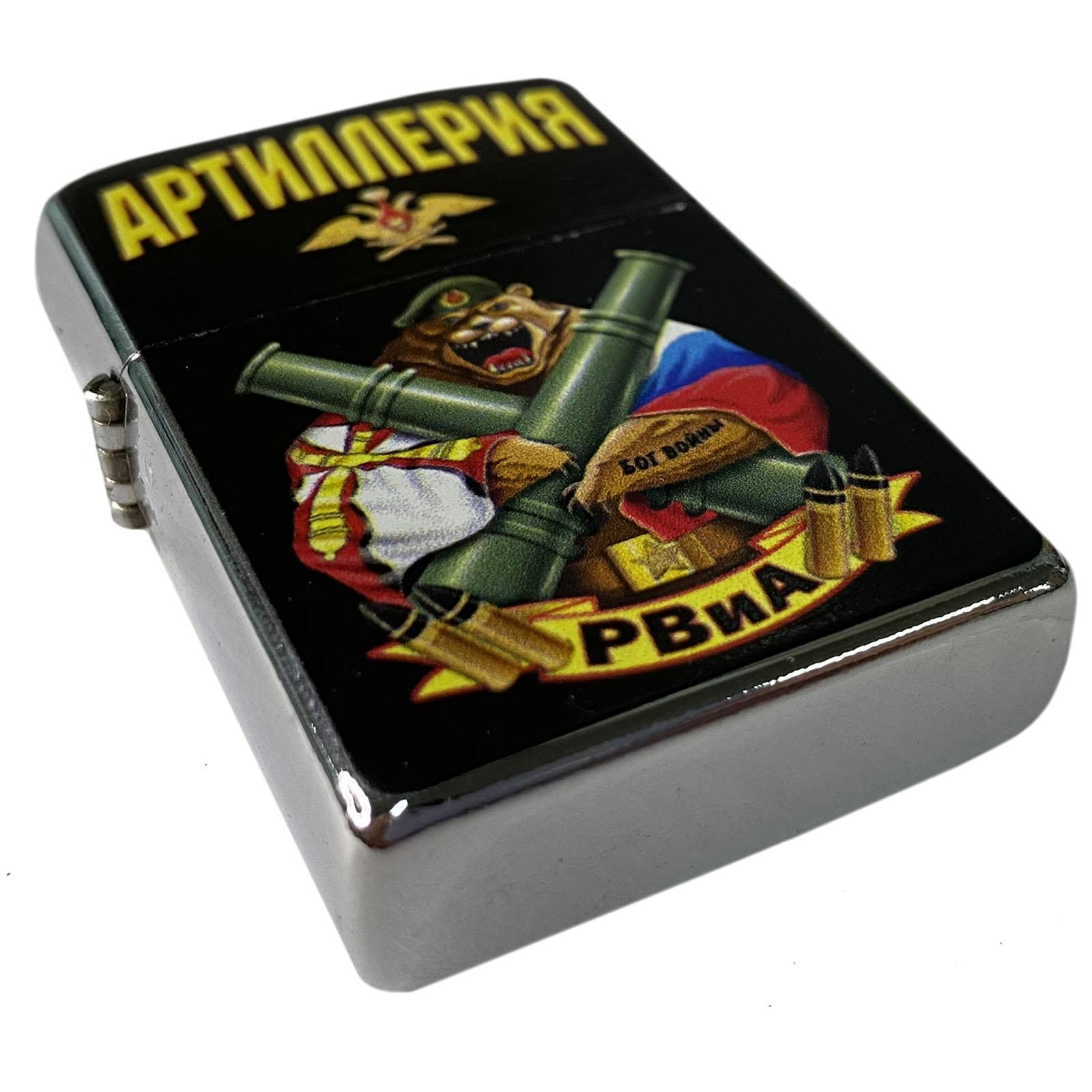 Бензиновая зажигалка РВиА Артиллерия