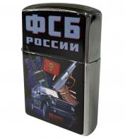 Бензиновая зажигалка с принтом ФСБ России