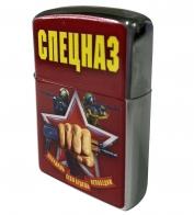 Бензиновая зажигалка с принтом Спецназ