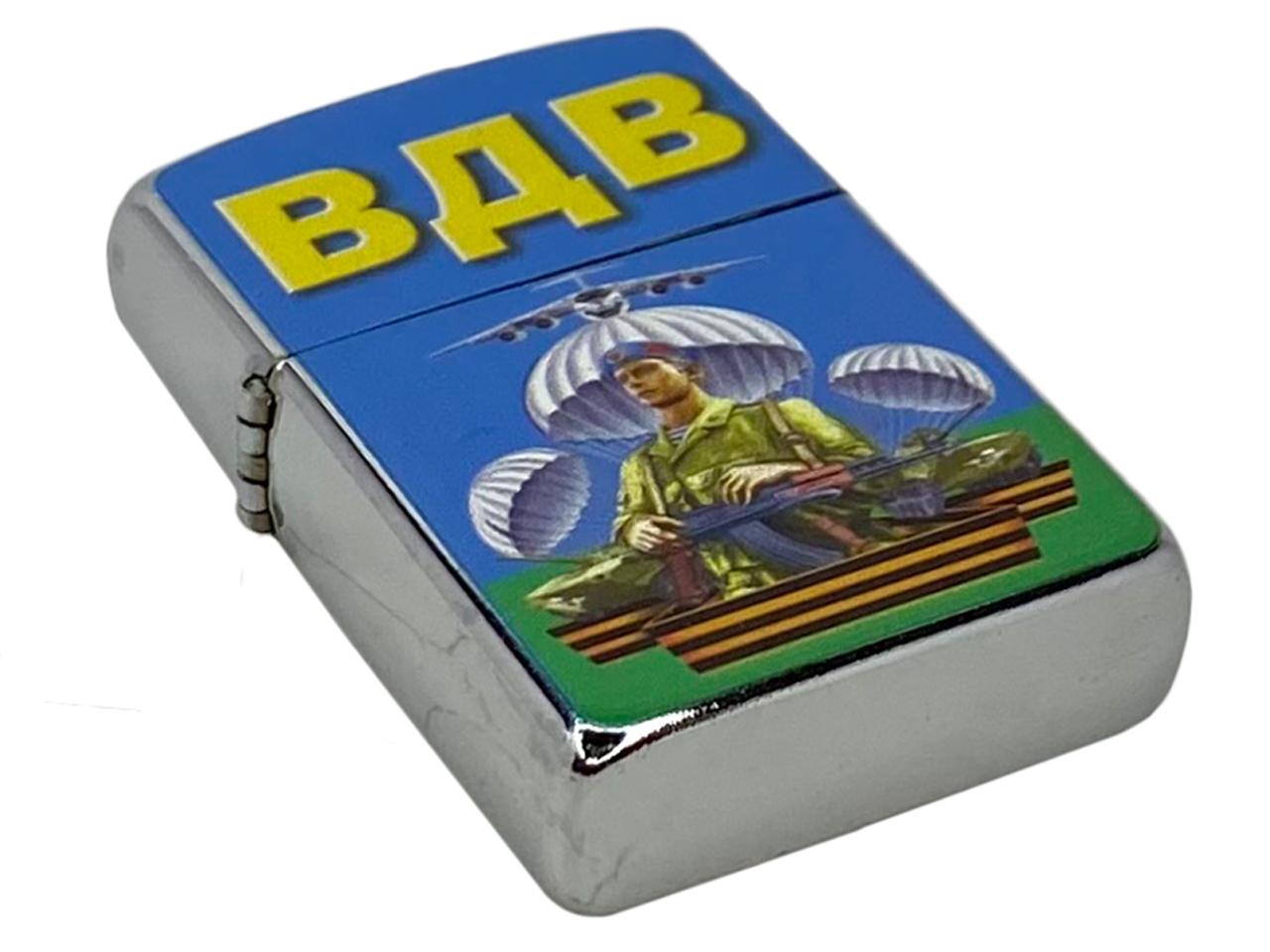 Бензиновая зажигалка ВДВ Десантник - с доставкой