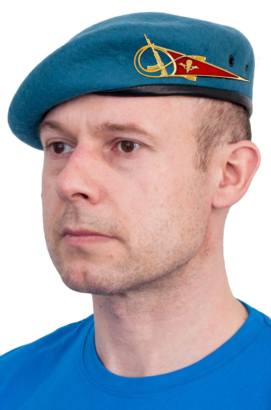 Берет десантника с околышем