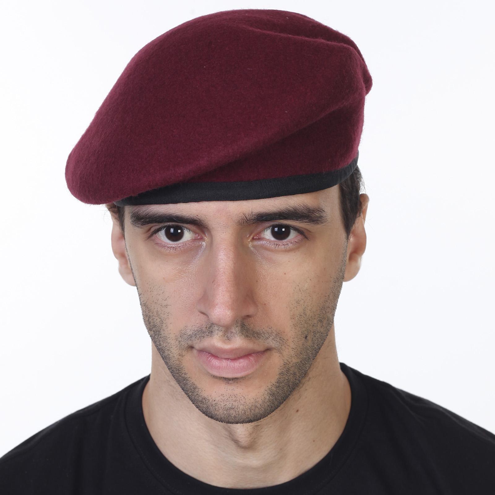 Берет десантников Parachute Regiment «Красные дьяволы». 100% оригинал (Англия)