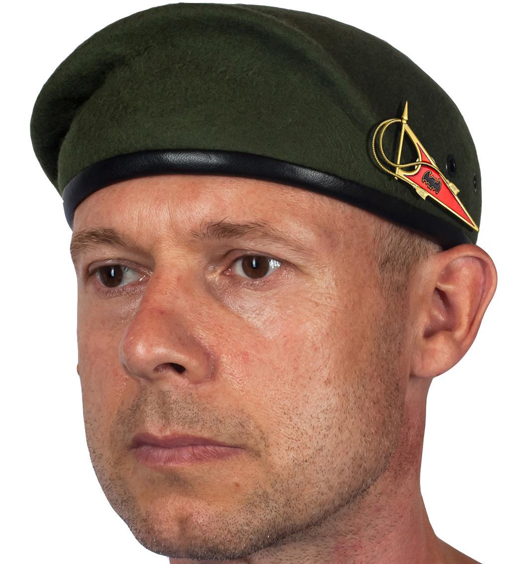 Берет Военной разведки с уголком