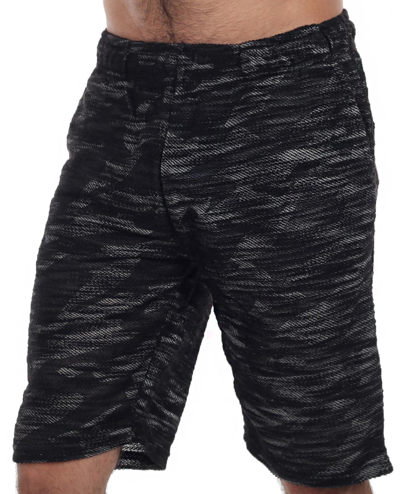 Свободные мужские шорты-бермуды от японского бренда Growth by Grail.