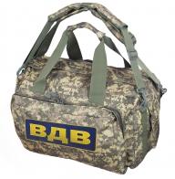 Бескаркасная камуфляжная сумка ВДВ