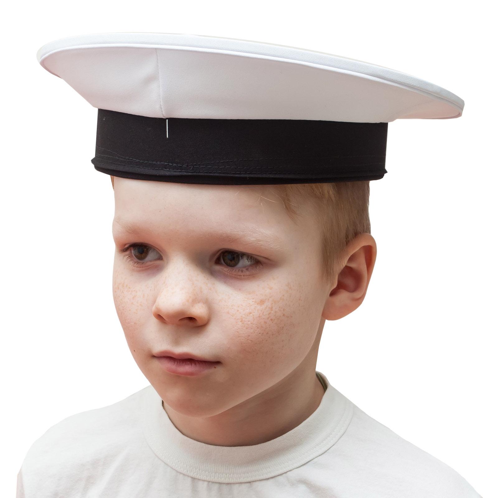 Бескозырка моряка белая по лучшей цене