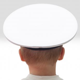 Бескозырка моряка белая с доставкой