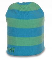 Бесподобная изысканная женская полосатая шапка Neff лучший молодежный вариант