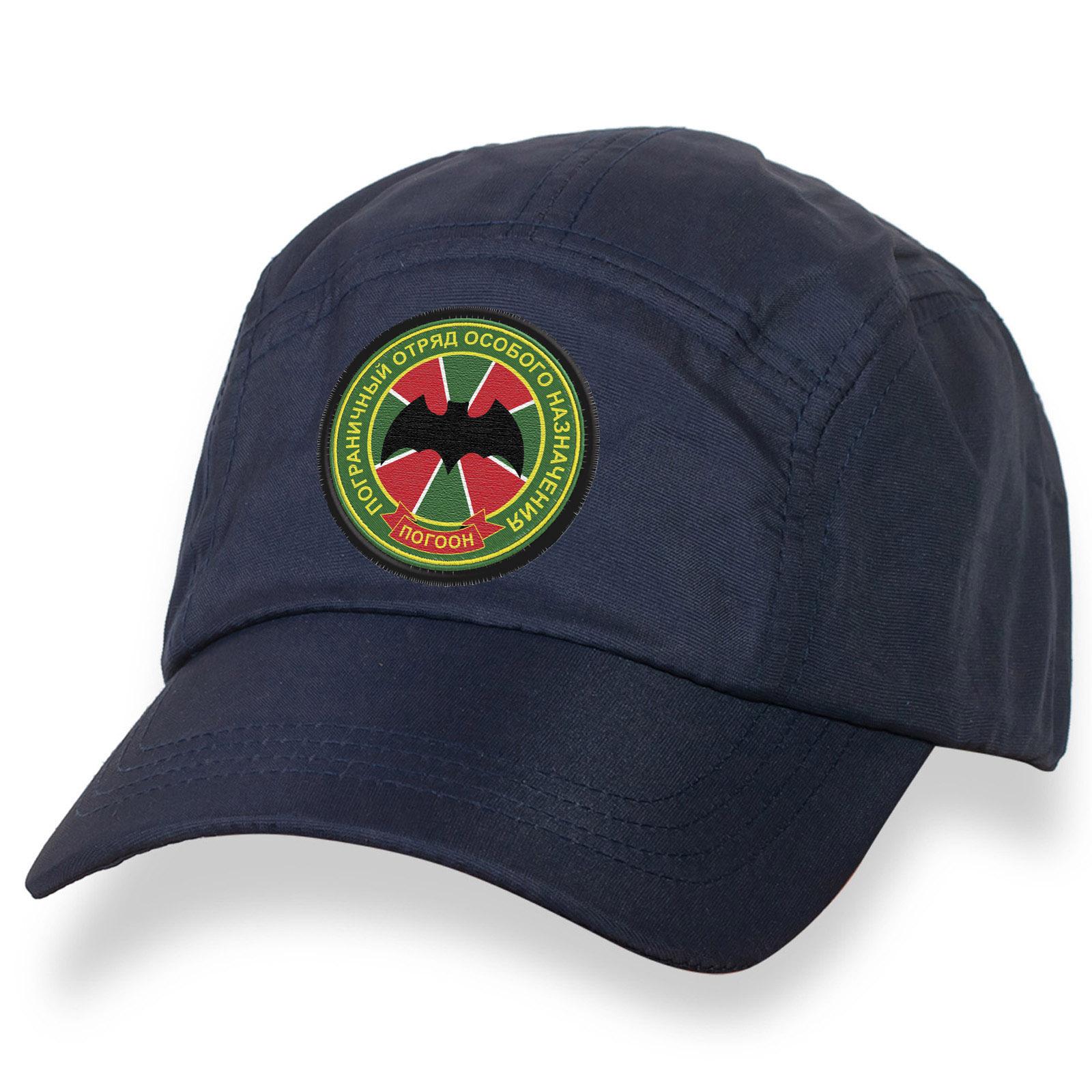 Бейсболка ПОГООН – Пограничный Отряд Особого Назначения.