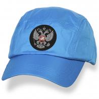Бейсболка с патриотическим шевроном Герб России.