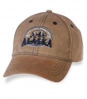 Бежевая мужская бейсболка ALASKA.