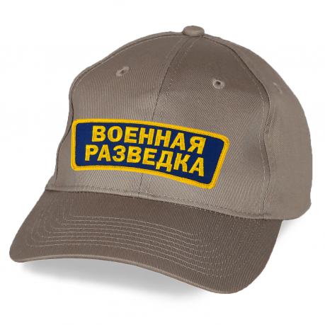 Бежевая кепка Военная разведка.