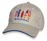 Бежевая бейсболка Saipan.