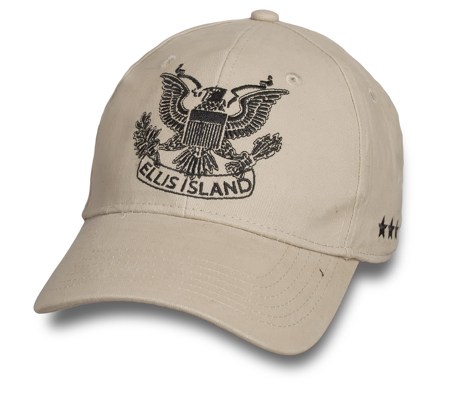 Бежевая кепка ELLIS ISLAND