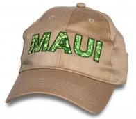Бежевая кепка Maui.