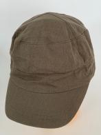 Бежевая кепка-немка классического кроя