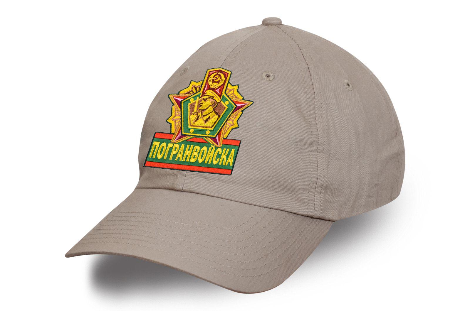 Бежевая кепка Погранвойска.