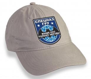 Бежевая кепка Спецназ ГРУ