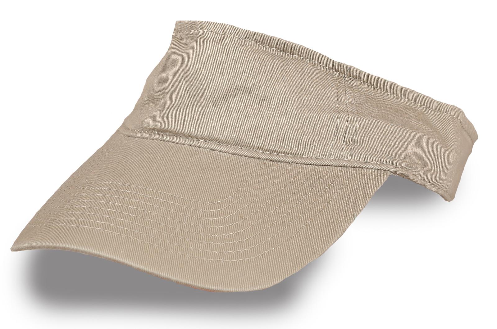 Бежевая кепка тенниска - купить в интернет-магазине с доставкой