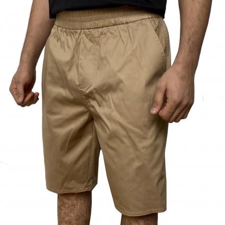 Бежевые мужские шорты Septwolves
