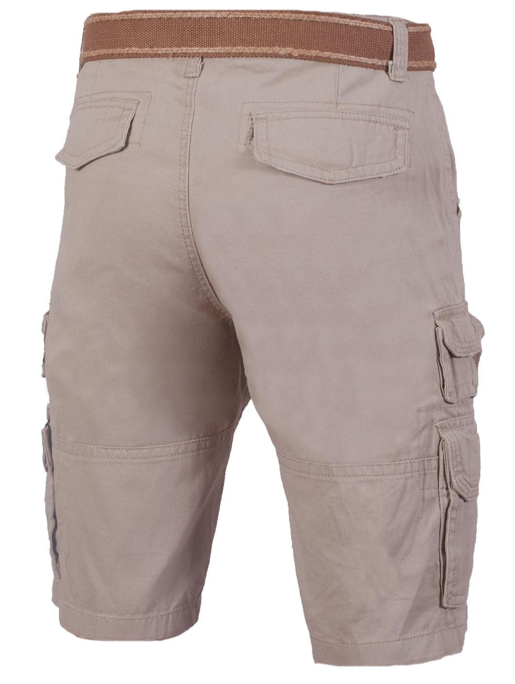Купить бежевые шорты мужские