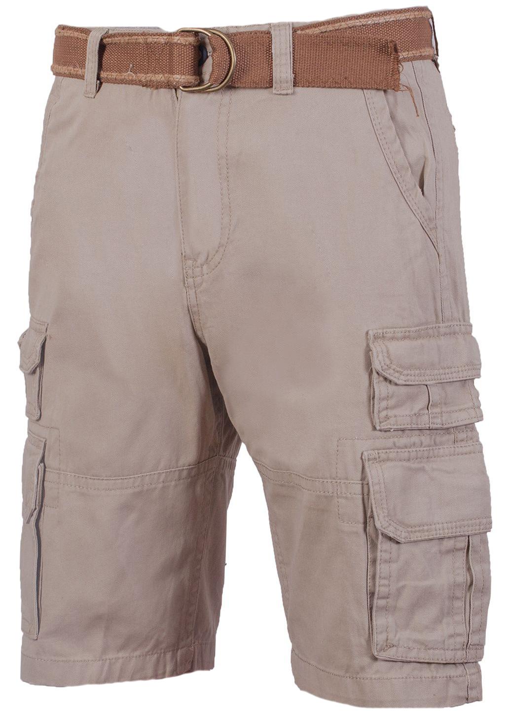 Бежевые шорты мужские