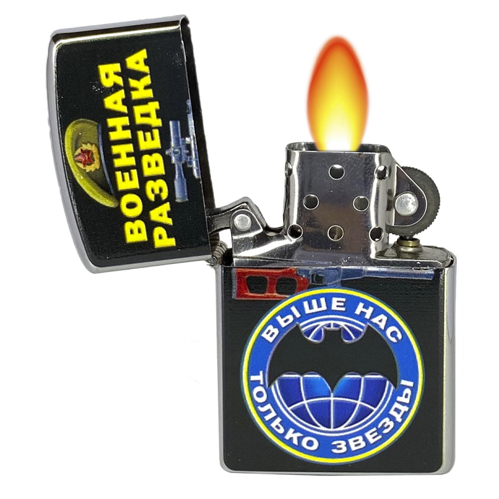 Купить бензиновую зажигалку Военная разведка