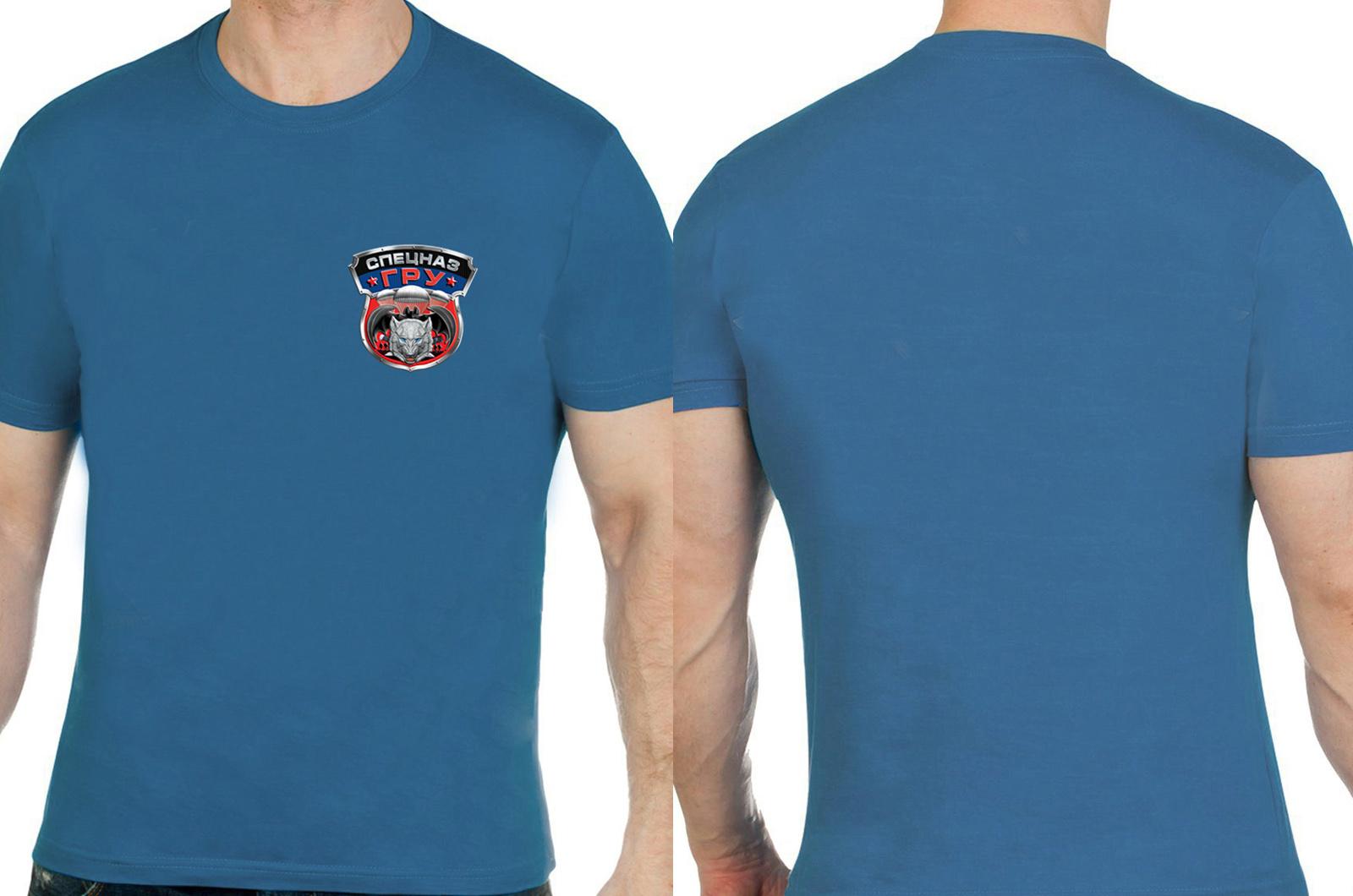 Безупречная футболка спецназовца ГРУ